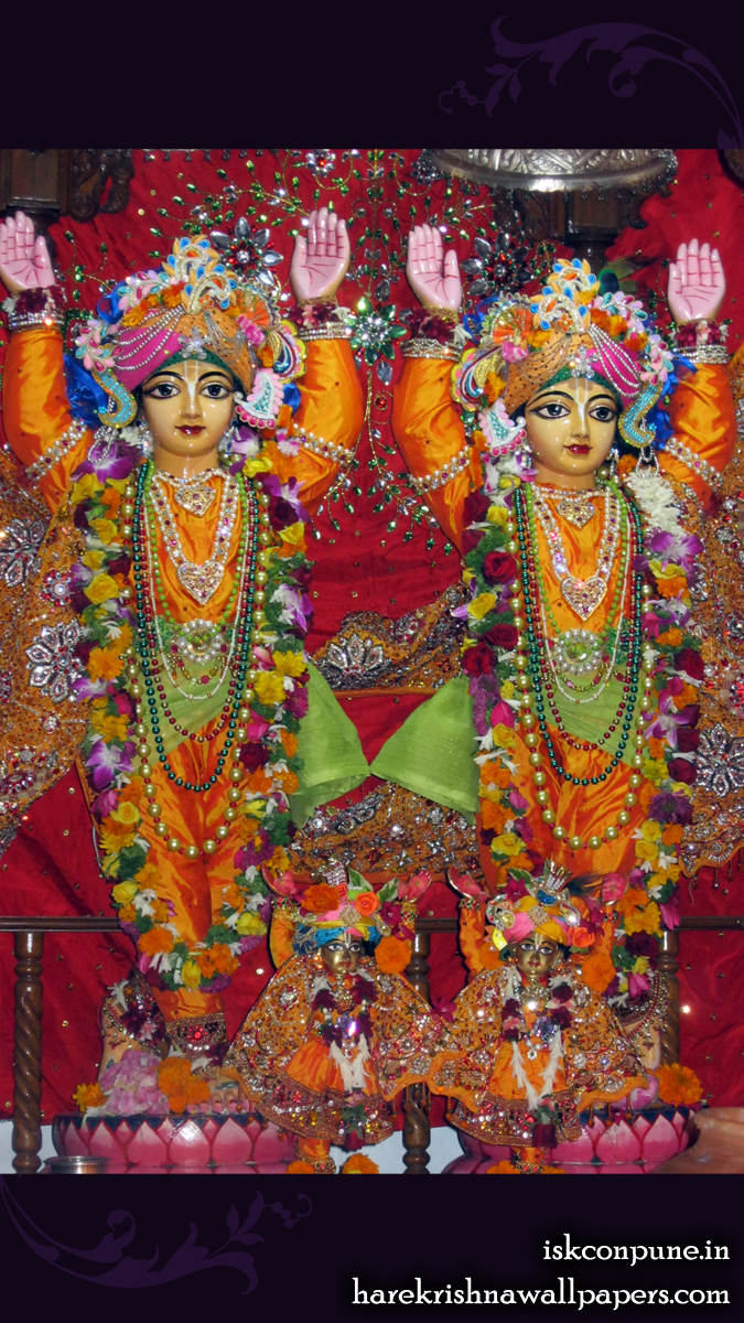 Sri Sri Gaura Nitai Close up Wallpaper (008) Size 675x1200 Download