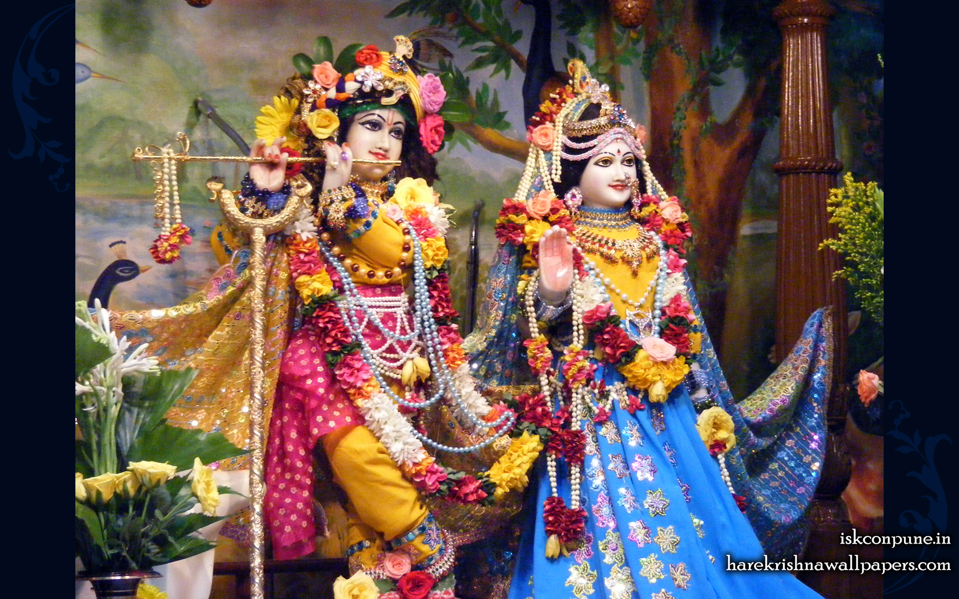 Sri Sri Radha Kunjabihari Wallpaper (008) Size 1920x1200 Download