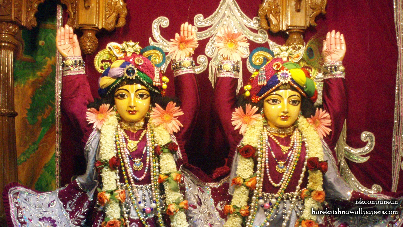 Sri Sri Gaura Nitai Close up Wallpaper (009) Size 1600x900 Download