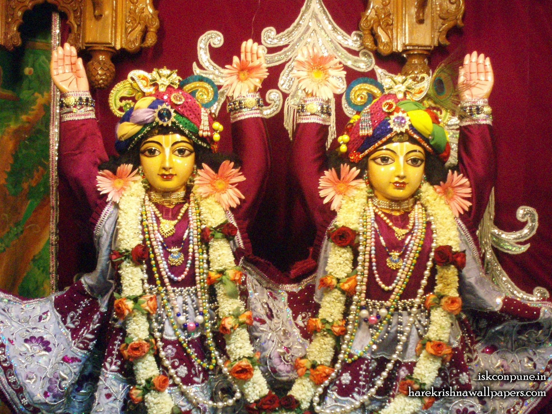 Sri Sri Gaura Nitai Close up Wallpaper (009) Size 1920x1440 Download