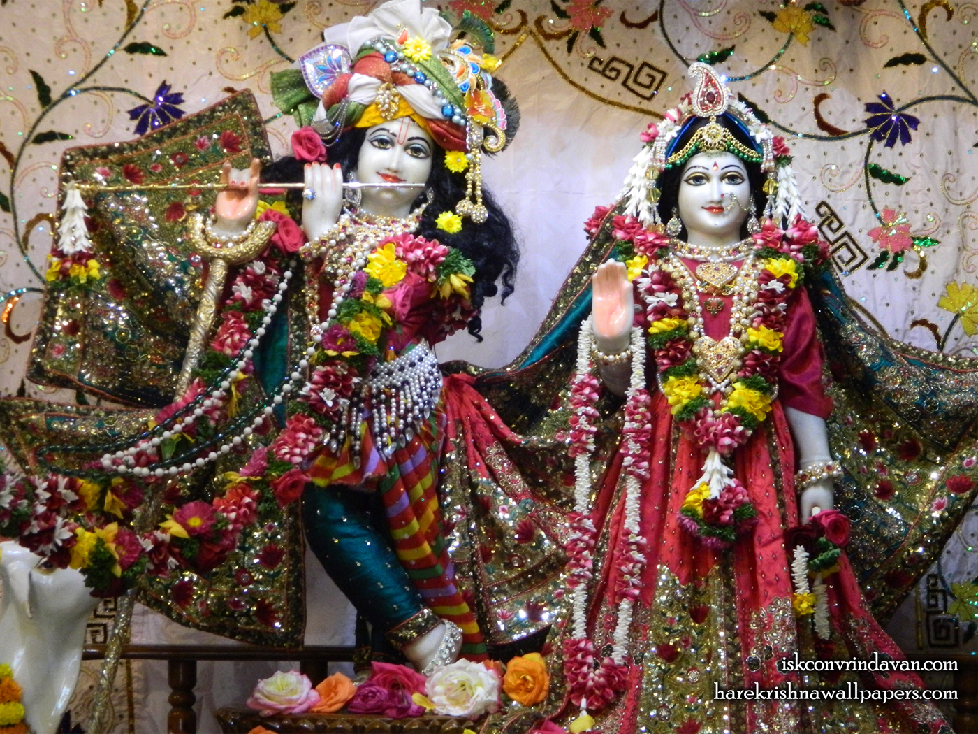 Sri Sri Radha Kunjabihari Wallpaper (009) Size 1400x1050 Download