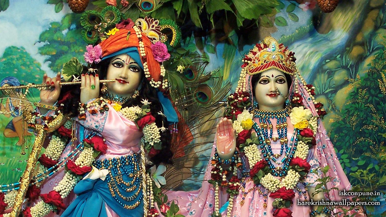 Sri Sri Radha Kunjabihari Close up Wallpaper (009) Size 1600x900 Download