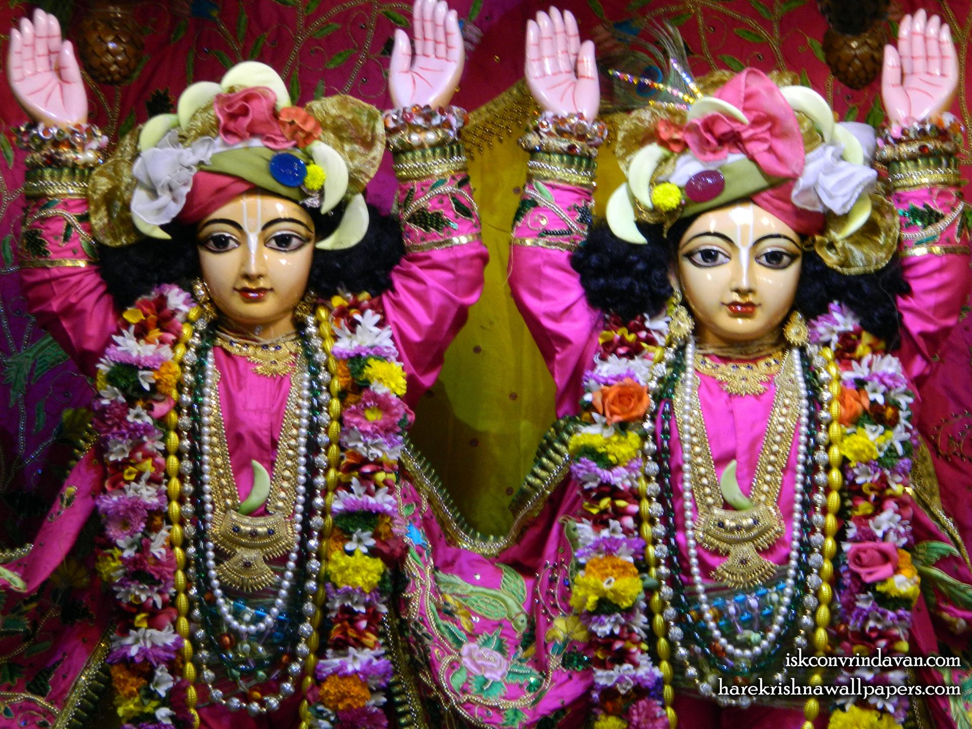 Sri Sri Gaura Nitai Close up Wallpaper (010) Size 1920x1440 Download