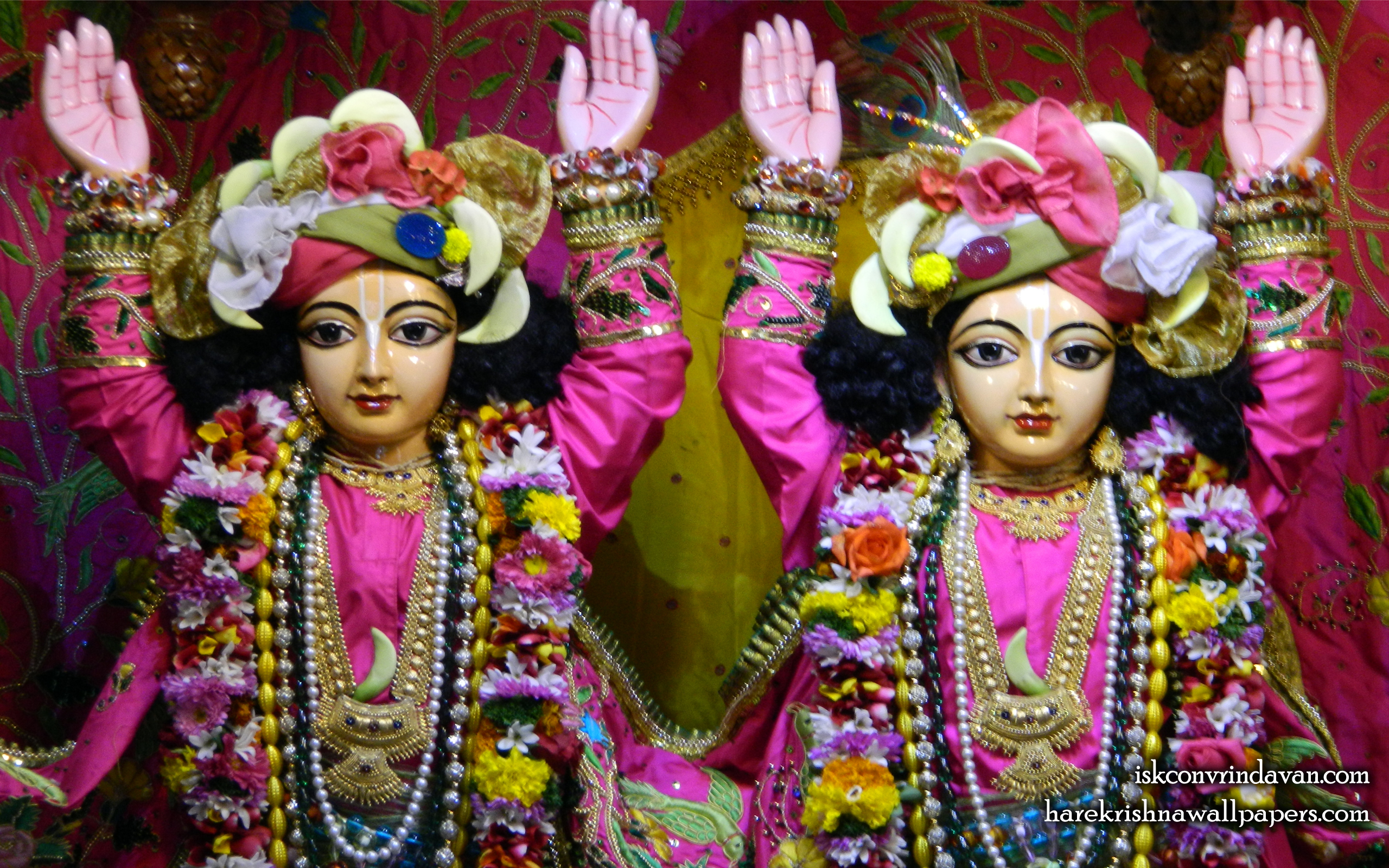 Sri Sri Gaura Nitai Close up Wallpaper (010) Size 2560x1600 Download