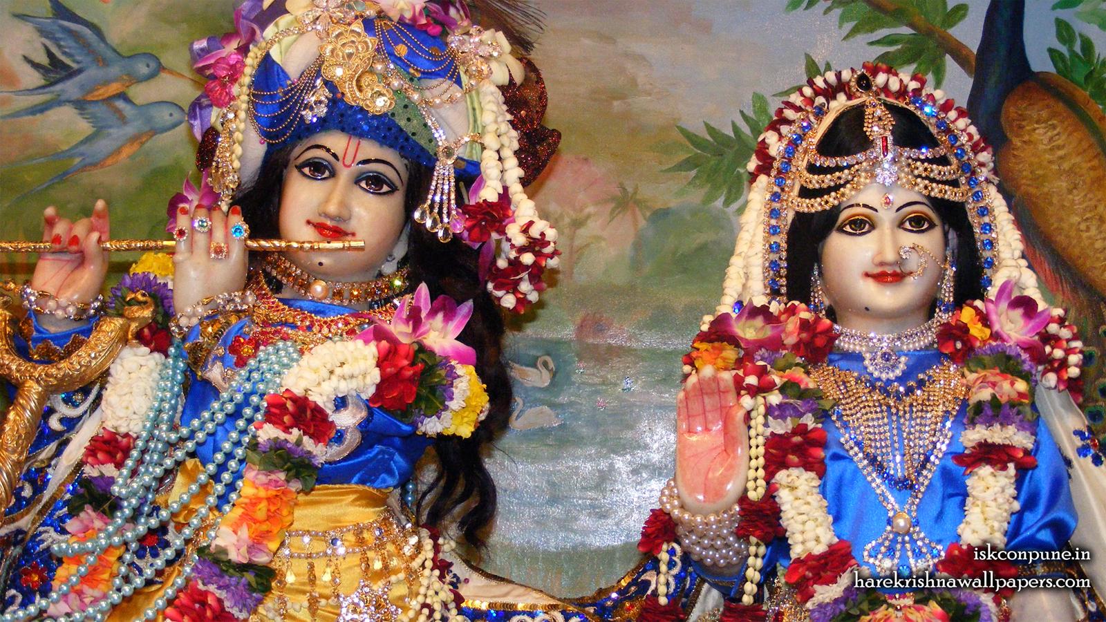 Sri Sri Radha Kunjabihari Close up Wallpaper (010) Size 1600x900 Download