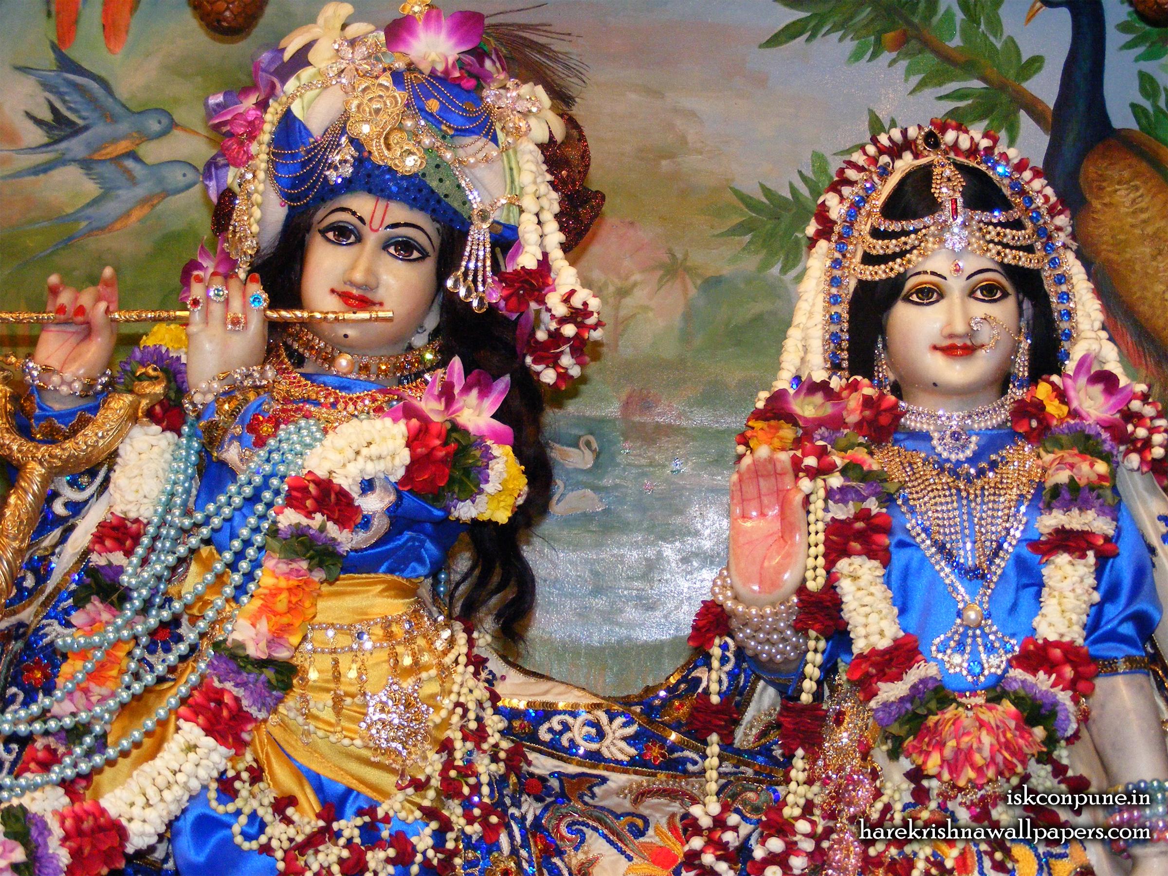 Sri Sri Radha Kunjabihari Close up Wallpaper (010) Size 2400x1800 Download