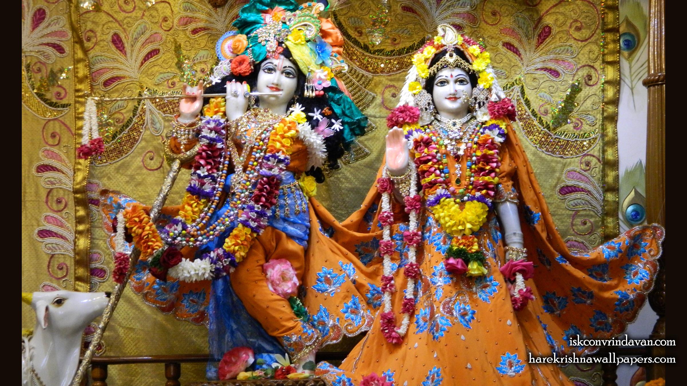 Sri Sri Radha Kunjabihari Wallpaper (011) Size 2400x1350 Download