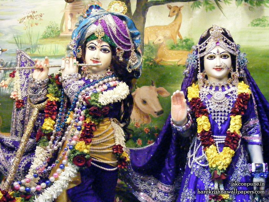 Sri Sri Radha Kunjabihari Close up Wallpaper (011) Size 1024x768 Download