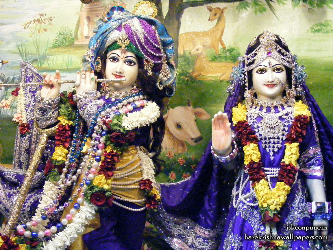 Sri Sri Radha Kunjabihari Close up Wallpaper (011) Size 1152x864 Download