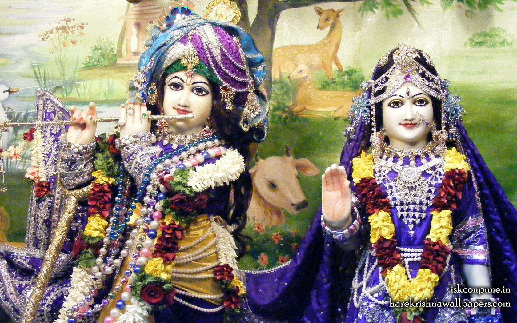 Sri Sri Radha Kunjabihari Close up Wallpaper (011) Size 1680x1050 Download
