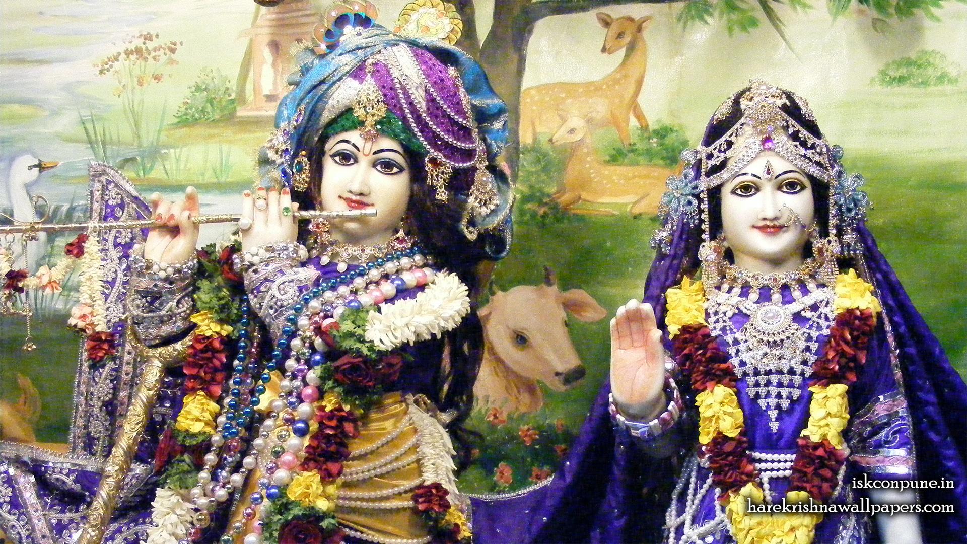 Sri Sri Radha Kunjabihari Close up Wallpaper (011) Size 1920x1080 Download