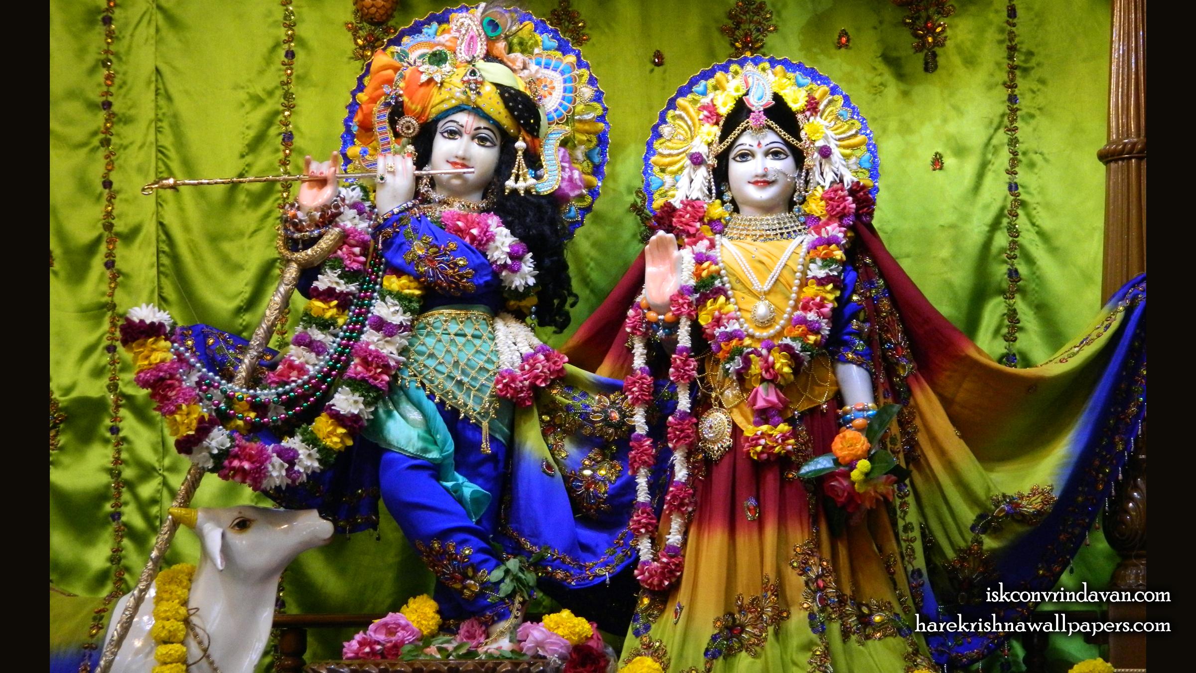 Sri Sri Radha Kunjabihari Wallpaper (013) Size 2400x1350 Download