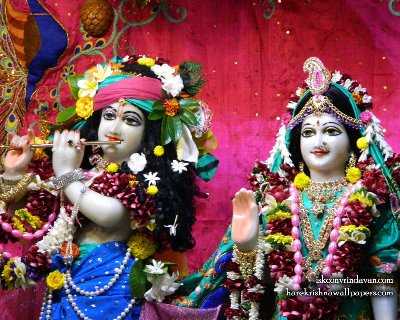 Sri Sri Radha Kunjabihari Close up Wallpaper (013) Size 1280x1024 Download