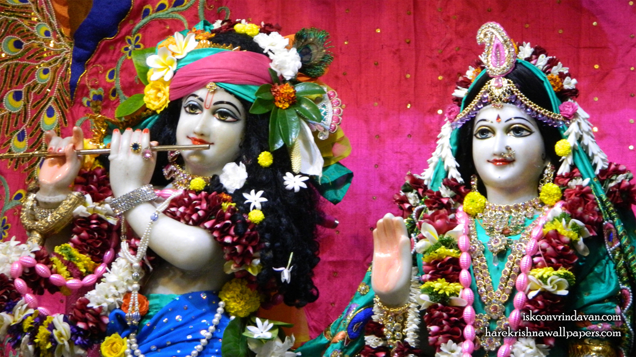Sri Sri Radha Kunjabihari Close up Wallpaper (013) Size 1280x720 Download