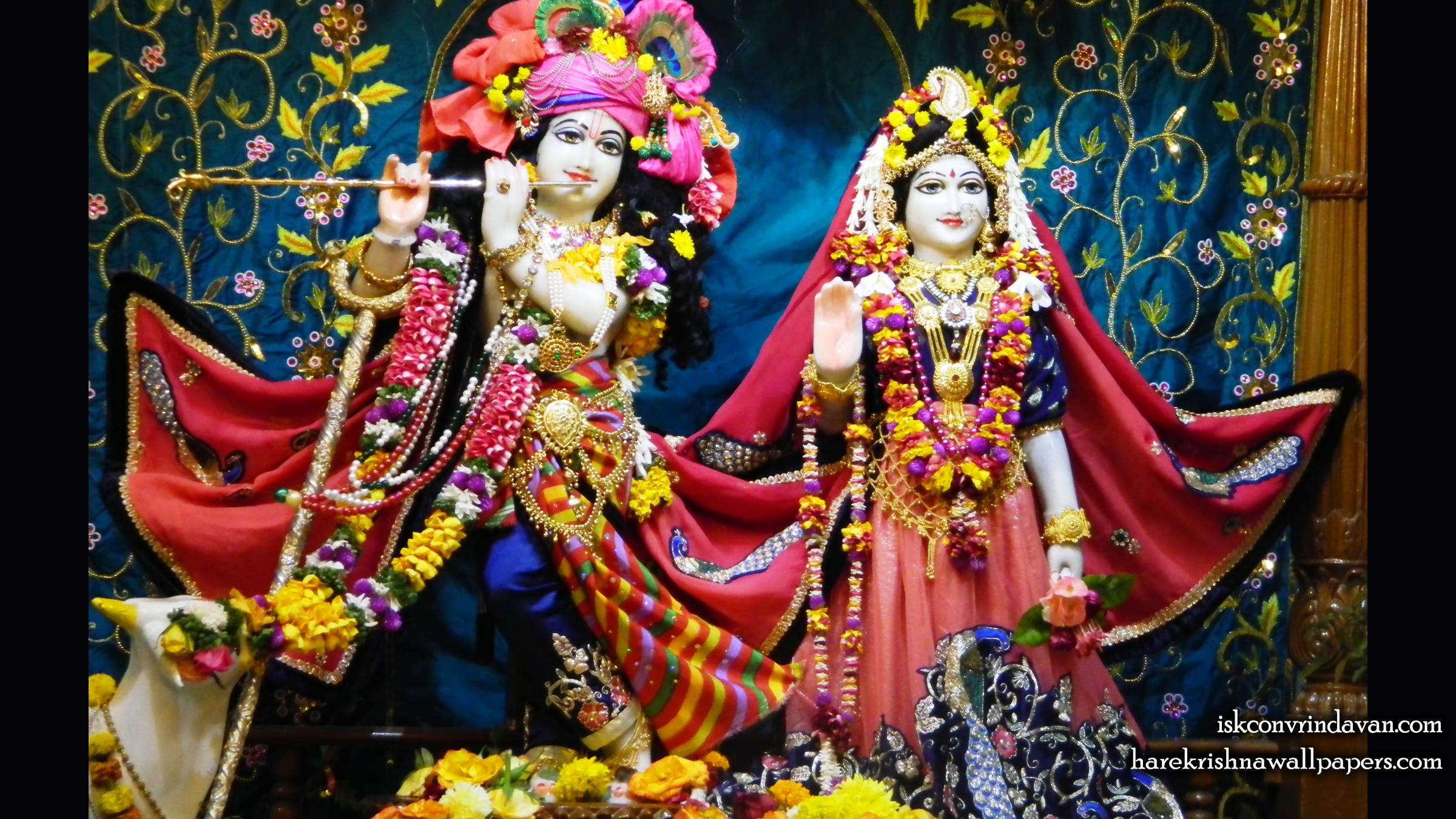 Sri Sri Radha Kunjabihari Wallpaper (014) Size 2400x1350 Download