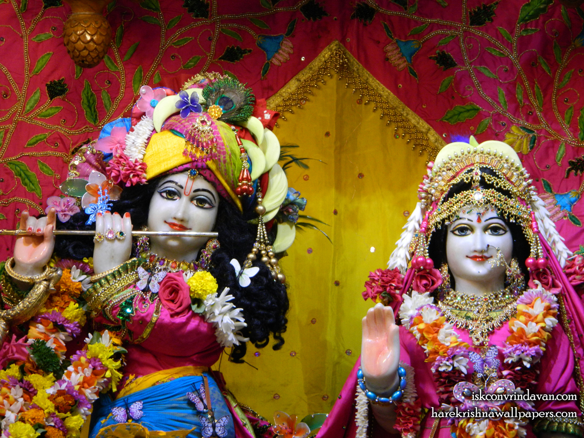 Sri Sri Radha Kunjabihari Close up Wallpaper (014) Size 1152x864 Download