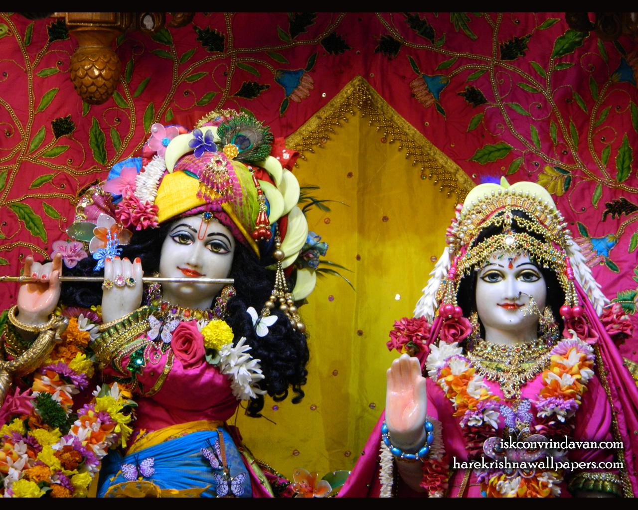 Sri Sri Radha Kunjabihari Close up Wallpaper (014) Size 1280x1024 Download