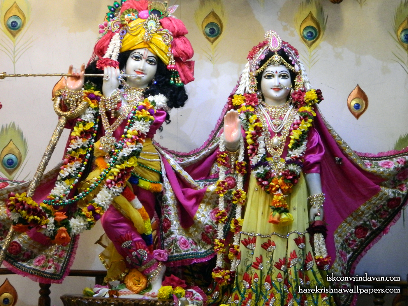 Sri Sri Radha Kunjabihari Wallpaper (015) Size 1400x1050 Download