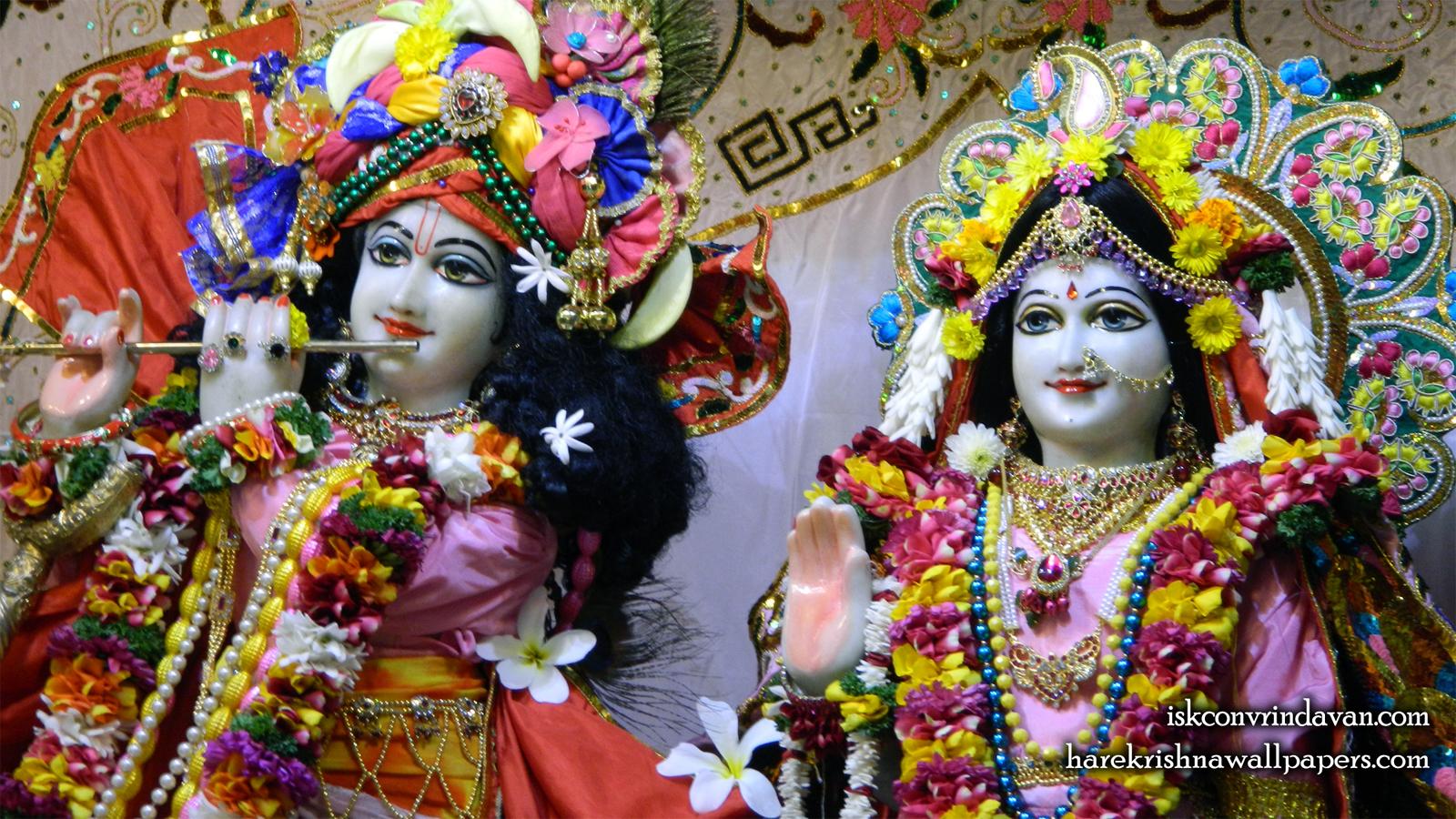 Sri Sri Radha Kunjabihari Close up Wallpaper (015) Size 1600x900 Download