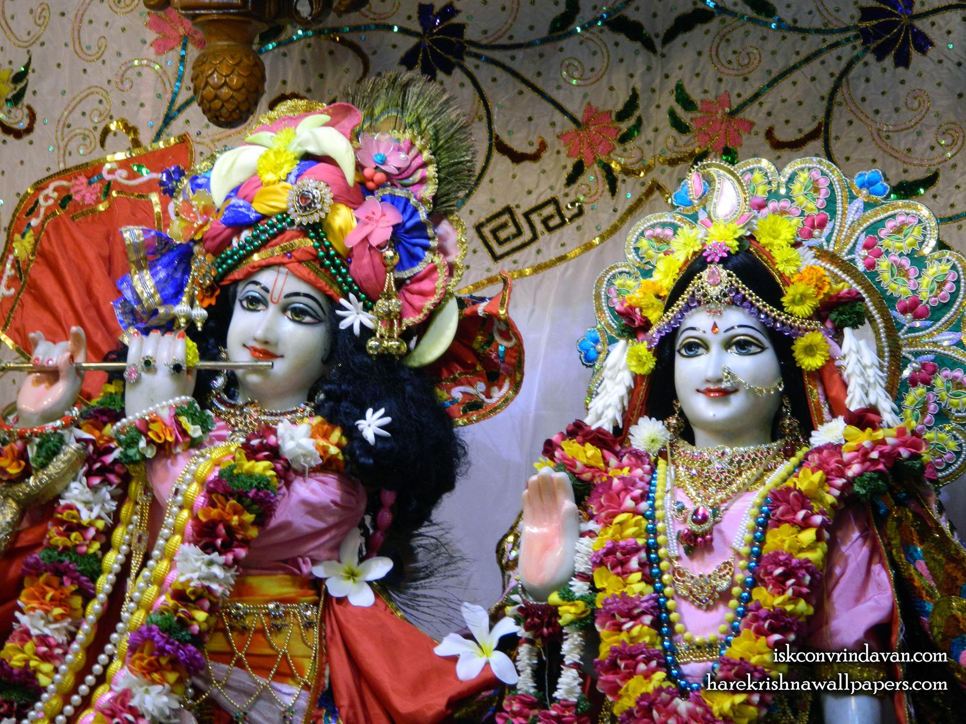 Sri Sri Radha Kunjabihari Close up Wallpaper (015) Size 1920x1440 Download