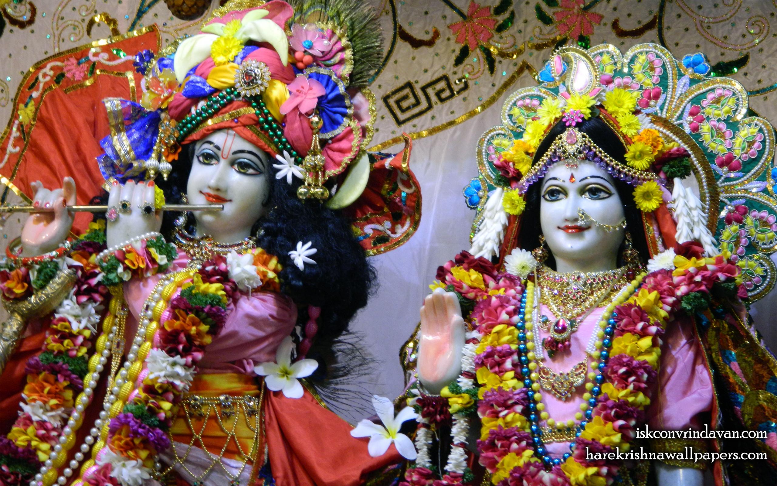 Sri Sri Radha Kunjabihari Close up Wallpaper (015) Size 2560x1600 Download