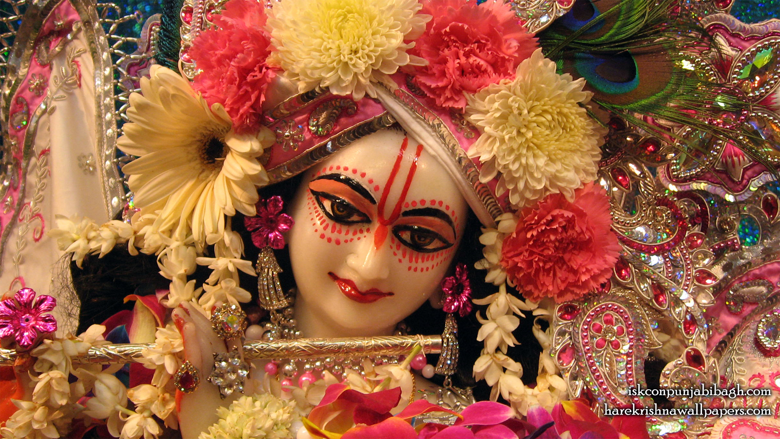 Sri Radhikaraman Close up Wallpaper (001) Size 1600x900 Download