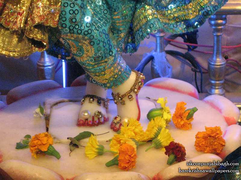 Sri Radhikaraman Feet Wallpaper (001)