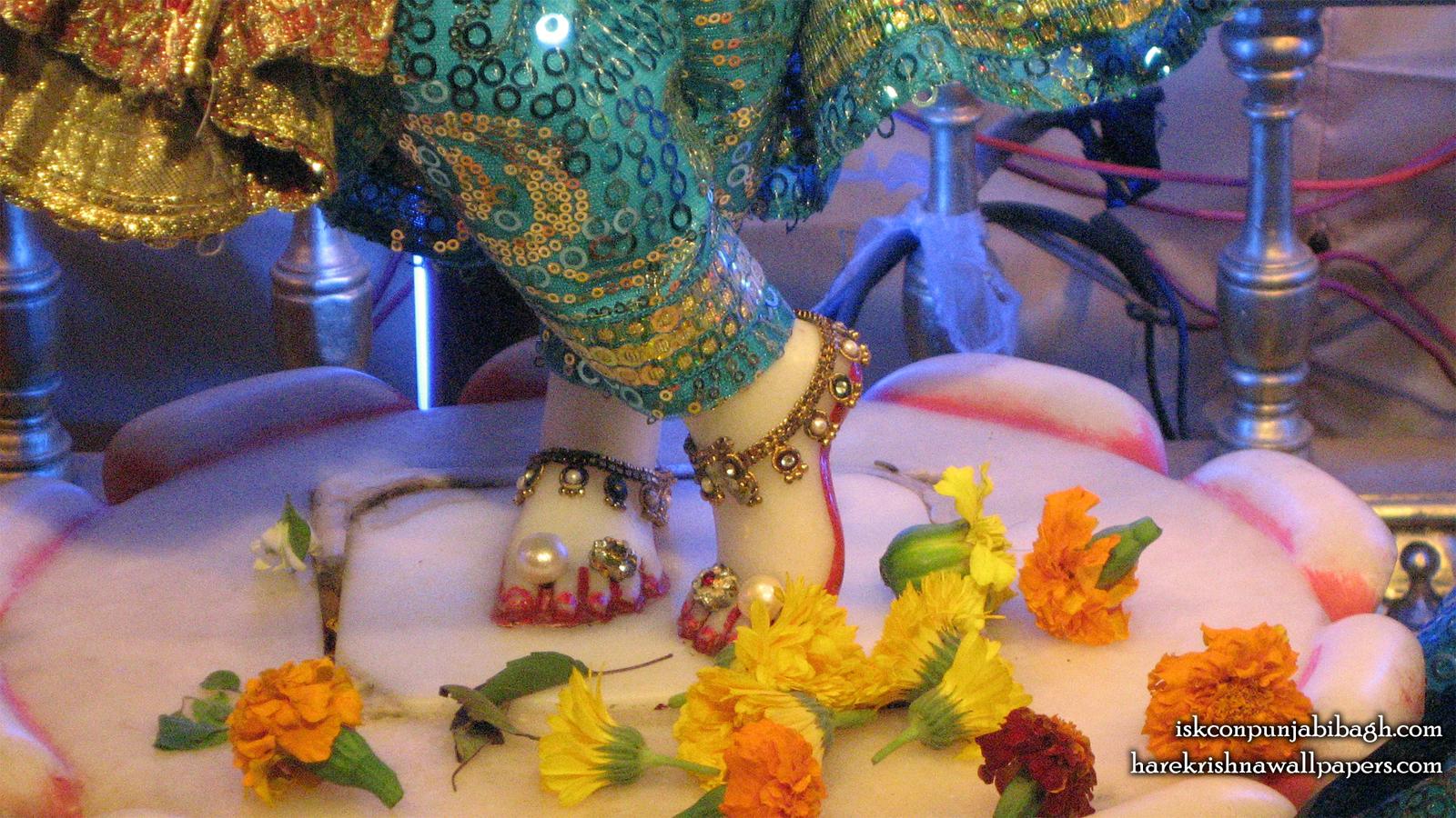 Sri Radhikaraman Feet Wallpaper (001) Size 1600x900 Download