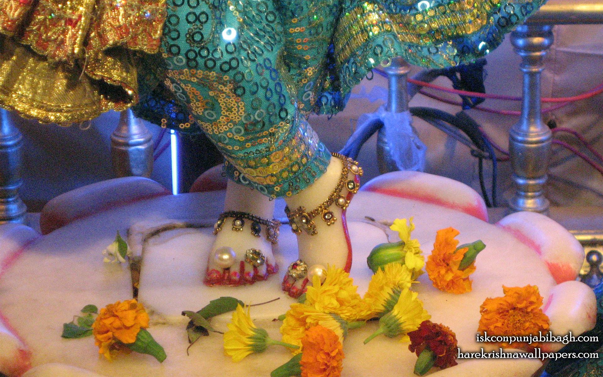 Sri Radhikaraman Feet Wallpaper (001) Size 1920x1200 Download