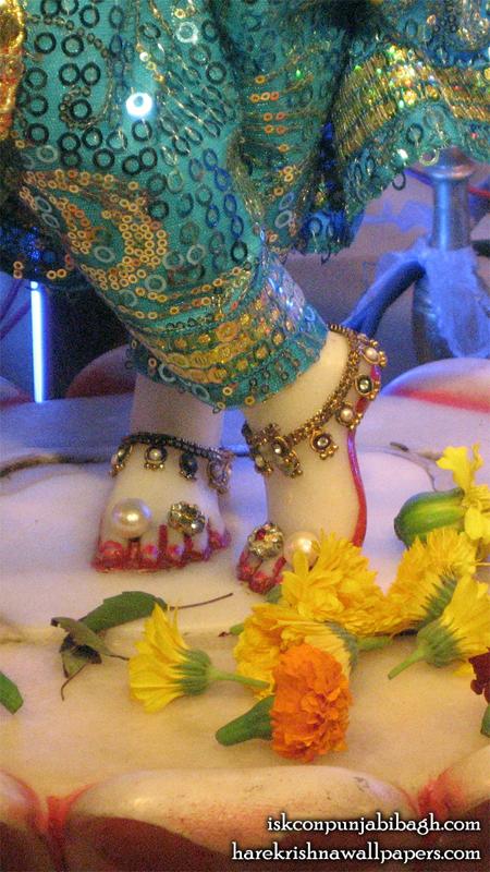 Sri Radhikaraman Feet Wallpaper (001) Size 450x800 Download