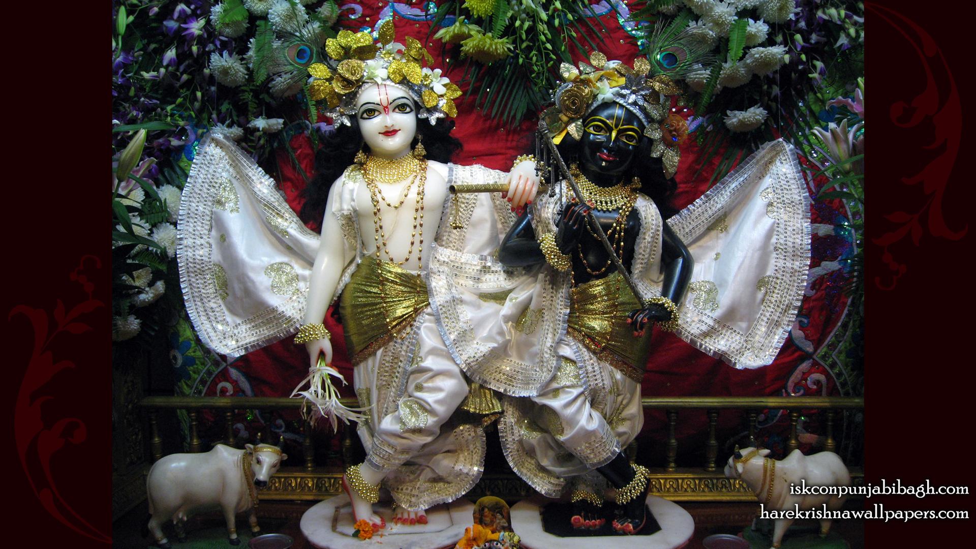 Sri Sri Krishna Balaram Wallpaper (001) Size 1920x1080 Download