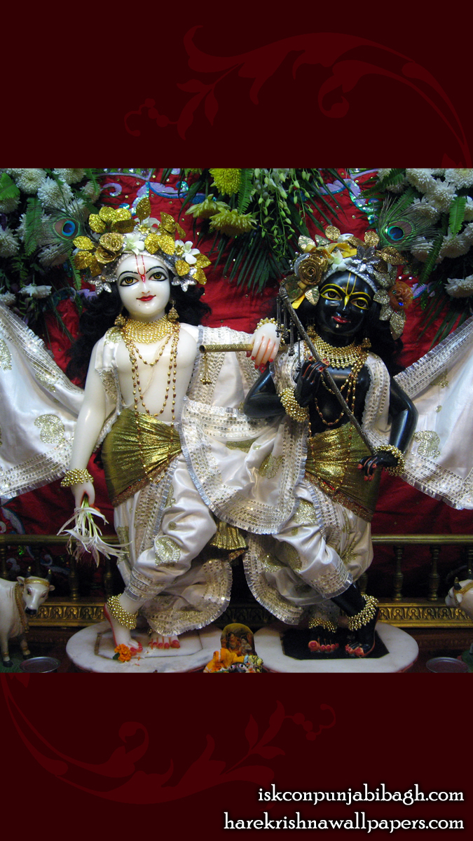 Sri Sri Krishna Balaram Wallpaper (001) Size 675x1200 Download