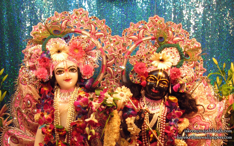 Sri Sri Krishna Balaram Close up Wallpaper (001) Size 1440x900 Download