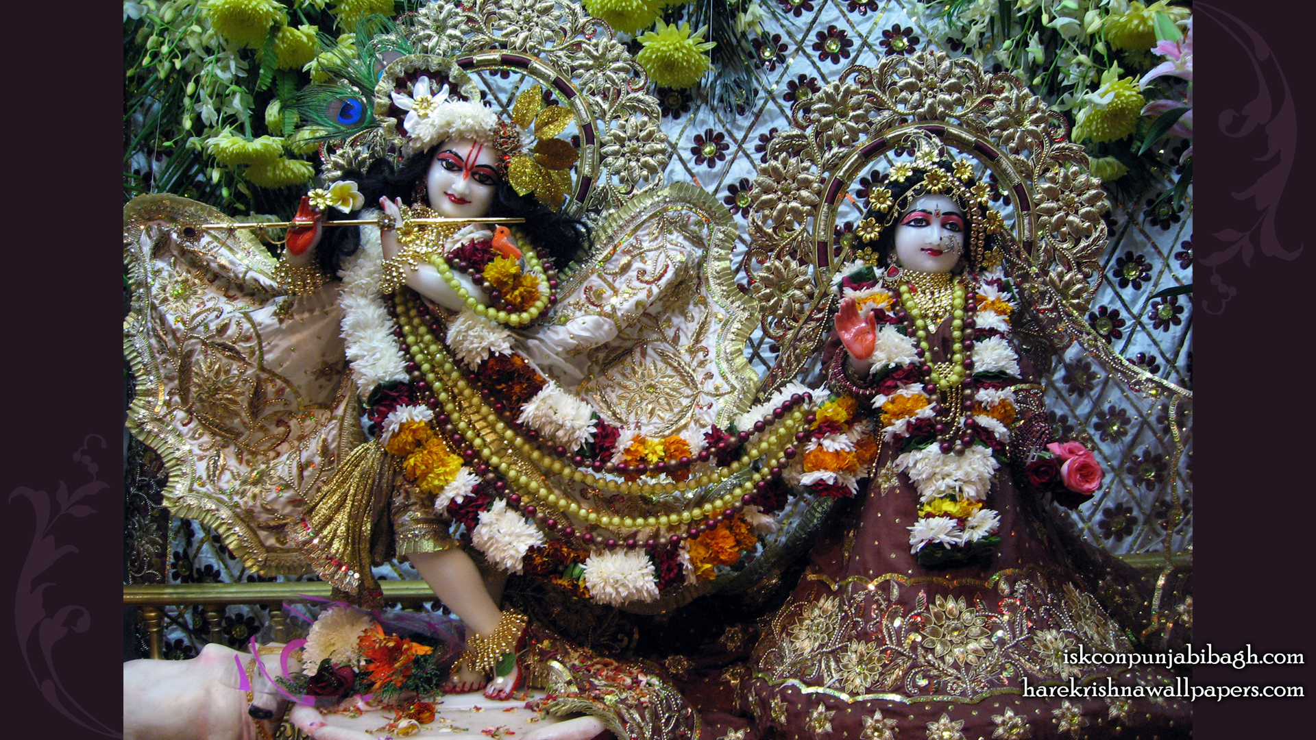 Sri Sri Radha Radhikaraman Wallpaper (001) Size 1920x1080 Download