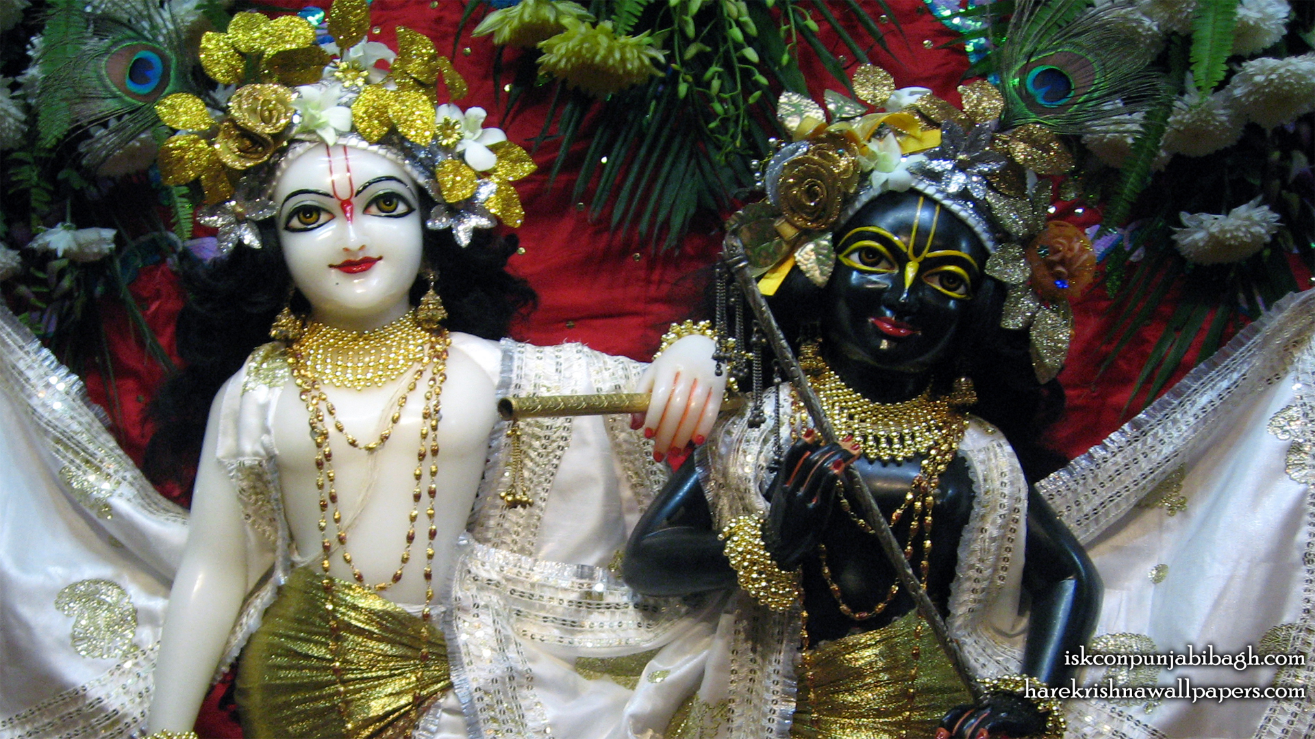 Sri Sri Krishna Balaram Close up Wallpaper (002) Size 1920x1080 Download