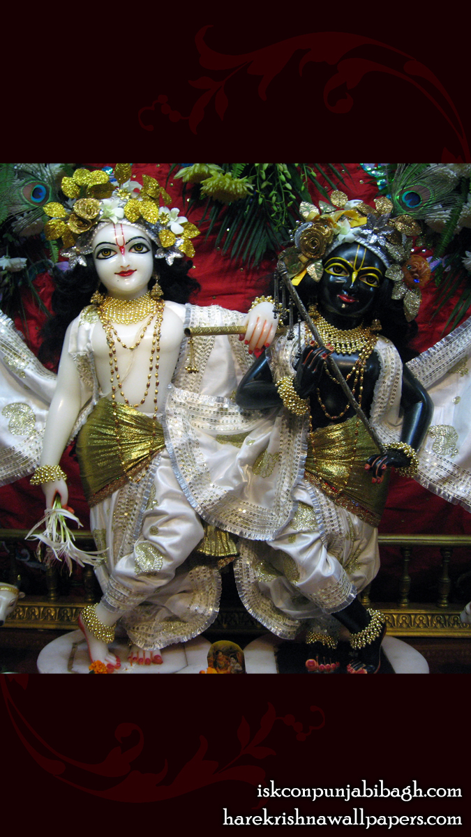 Sri Sri Krishna Balaram Close up Wallpaper (002) Size 675x1200 Download