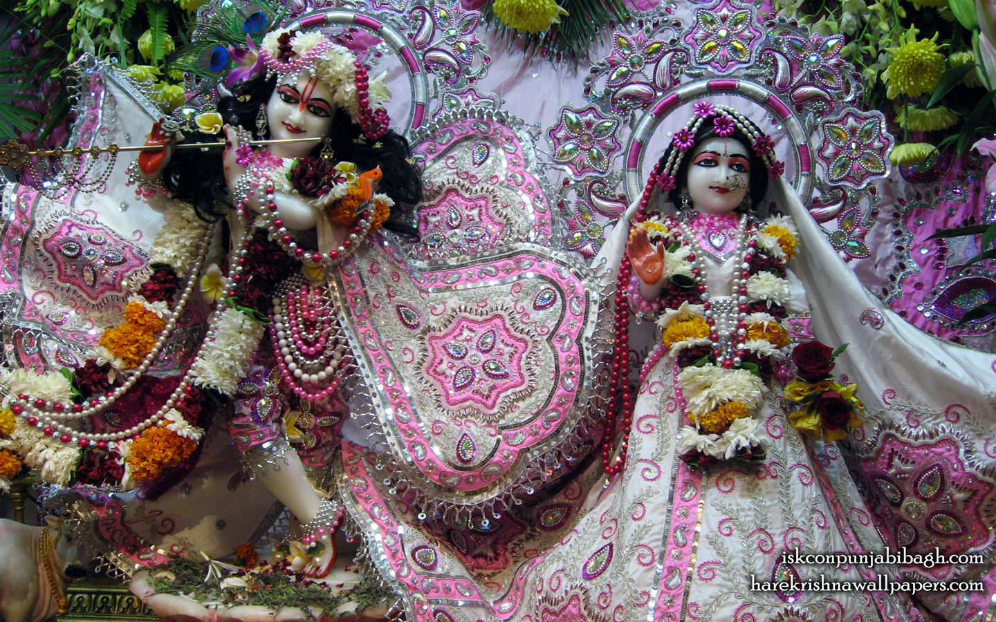 Sri Sri Radha Radhikaraman Wallpaper (002) Size 1440x900 Download