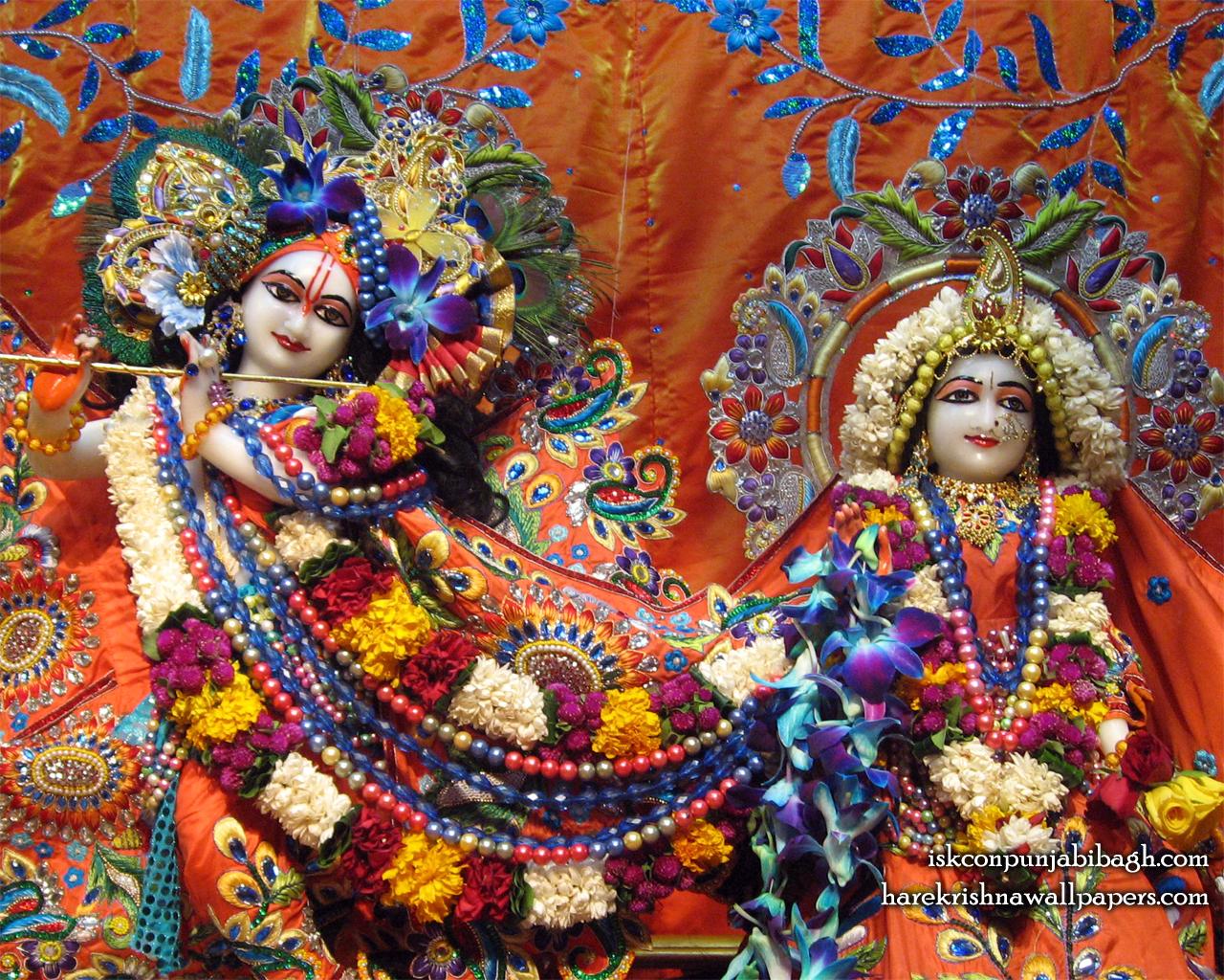 Sri Sri Radha Radhikaraman Close up Wallpaper (002) Size 1280x1024 Download