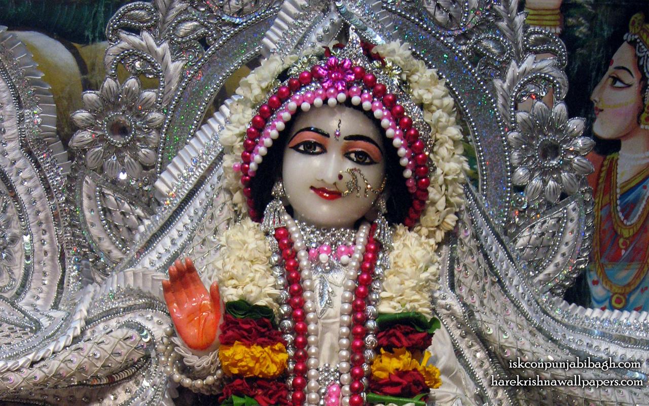 Sri Radha Close up Wallpaper (003) Size 1280x800 Download