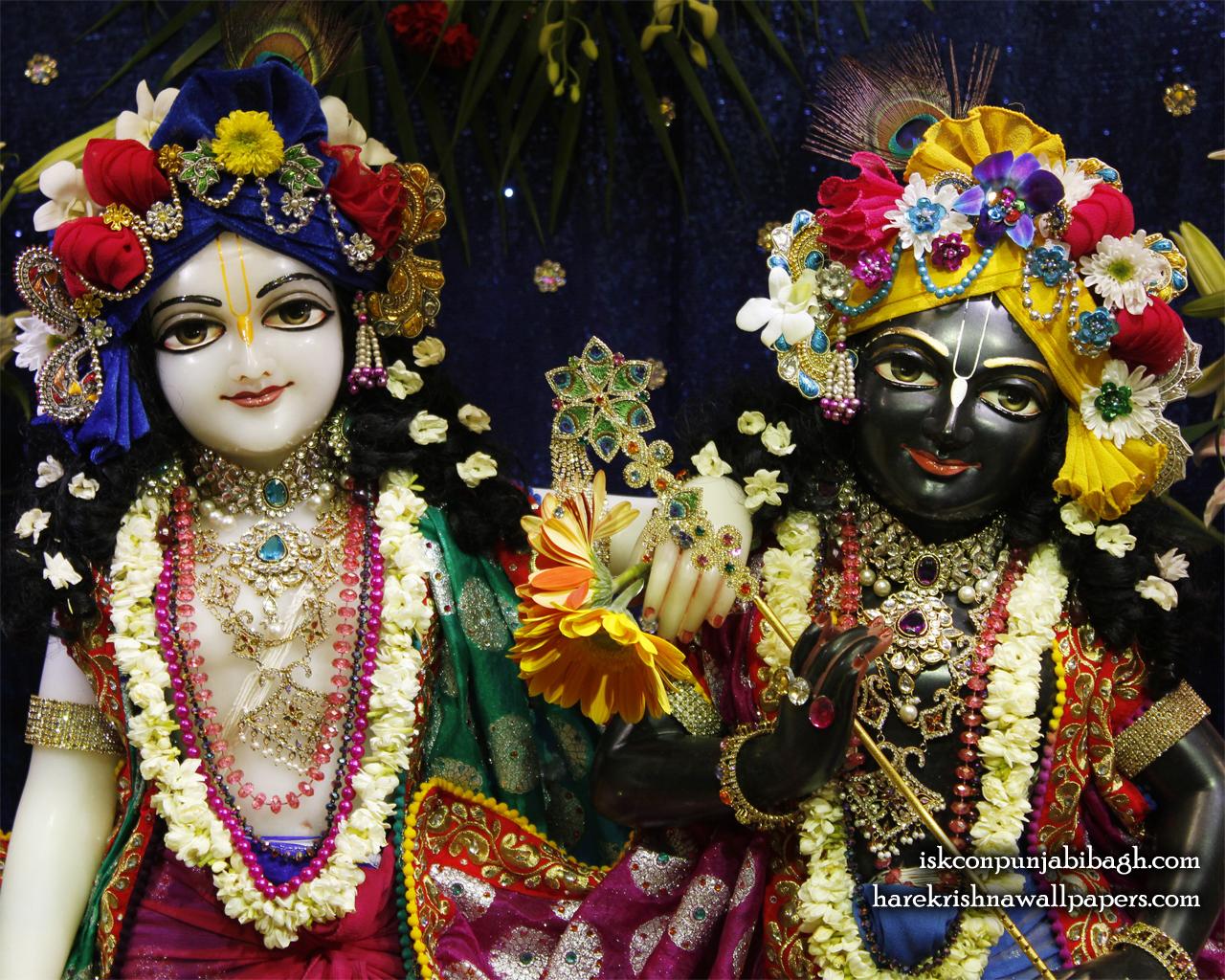Sri Sri Krishna Balaram Close up Wallpaper (003) Size 1280x1024 Download