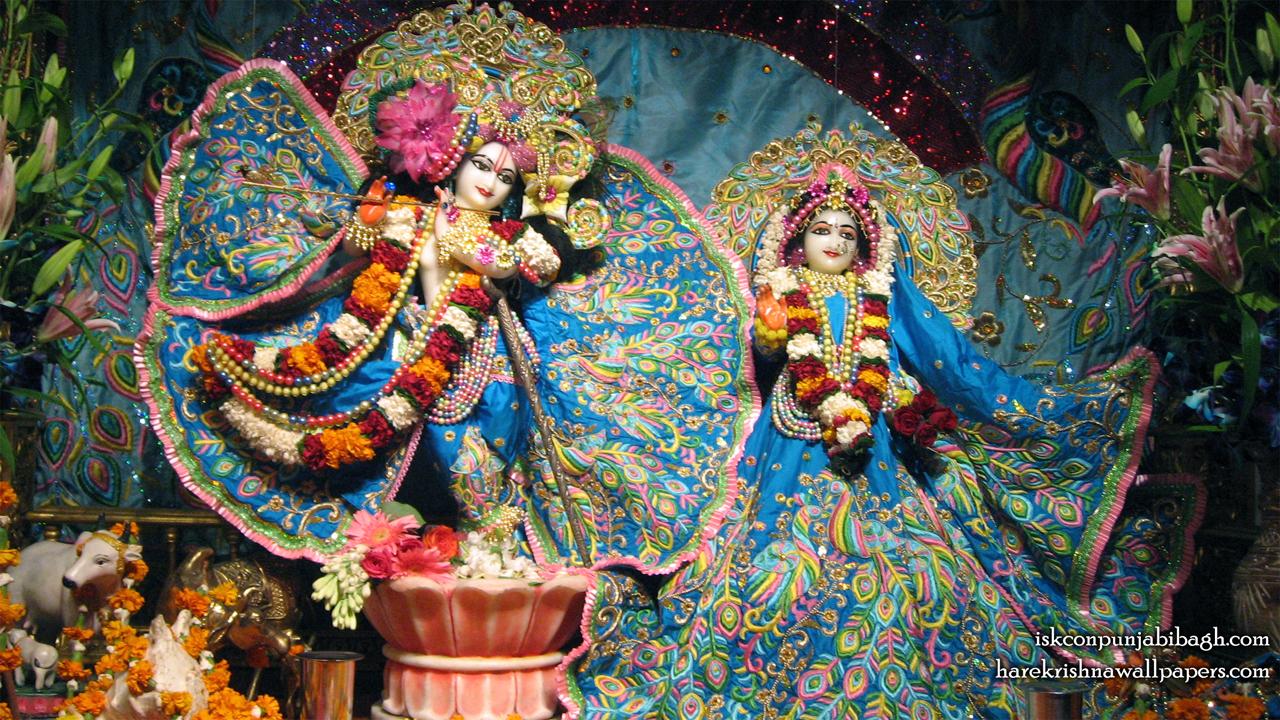 Sri Sri Radha Radhikaraman Wallpaper (003) Size1280x720 Download