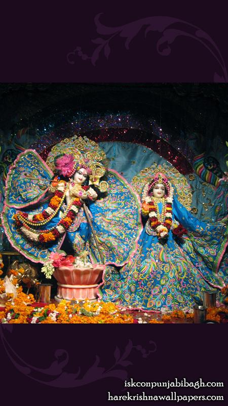 Sri Sri Radha Radhikaraman Wallpaper (003) Size 450x800 Download