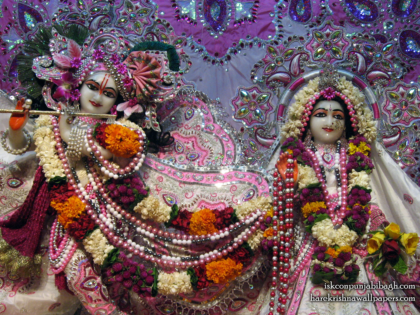 Sri Sri Radha Radhikaraman Close up Wallpaper (003) Size 1400x1050 Download