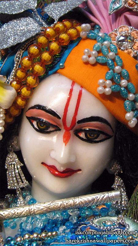 Sri Radhikaraman Close up Wallpaper (004) Size 450x800 Download