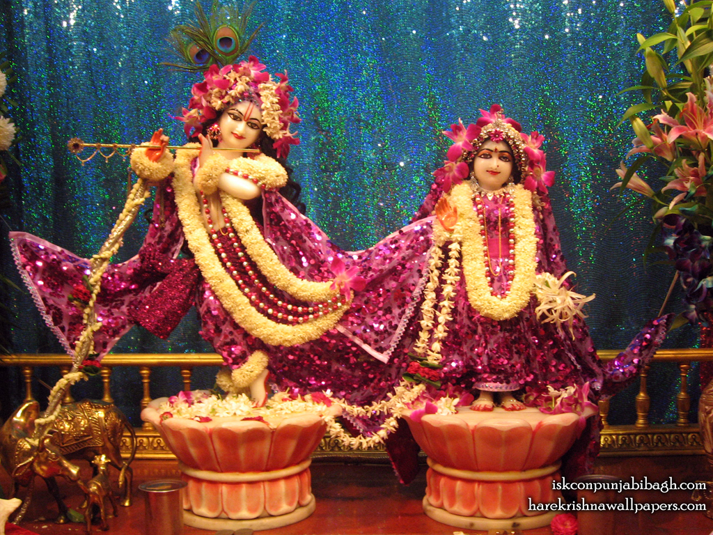 Sri Sri Radha Radhikaraman Wallpaper (004) Size 1024x768 Download