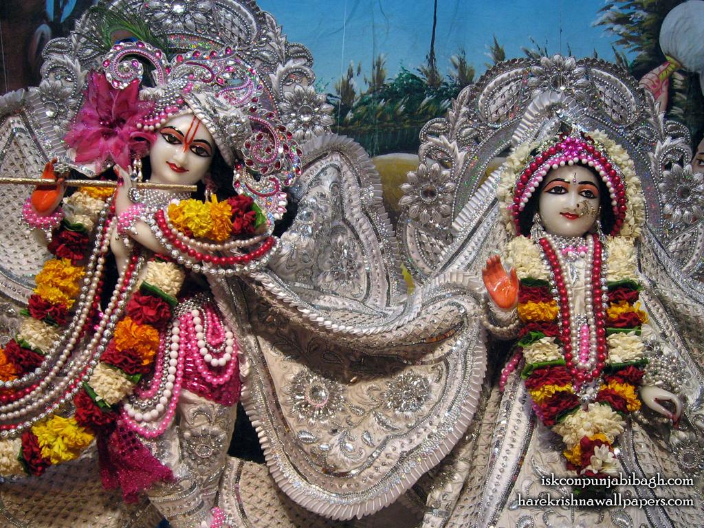 Sri Sri Radha Radhikaraman Close up Wallpaper (004) Size 1024x768 Download