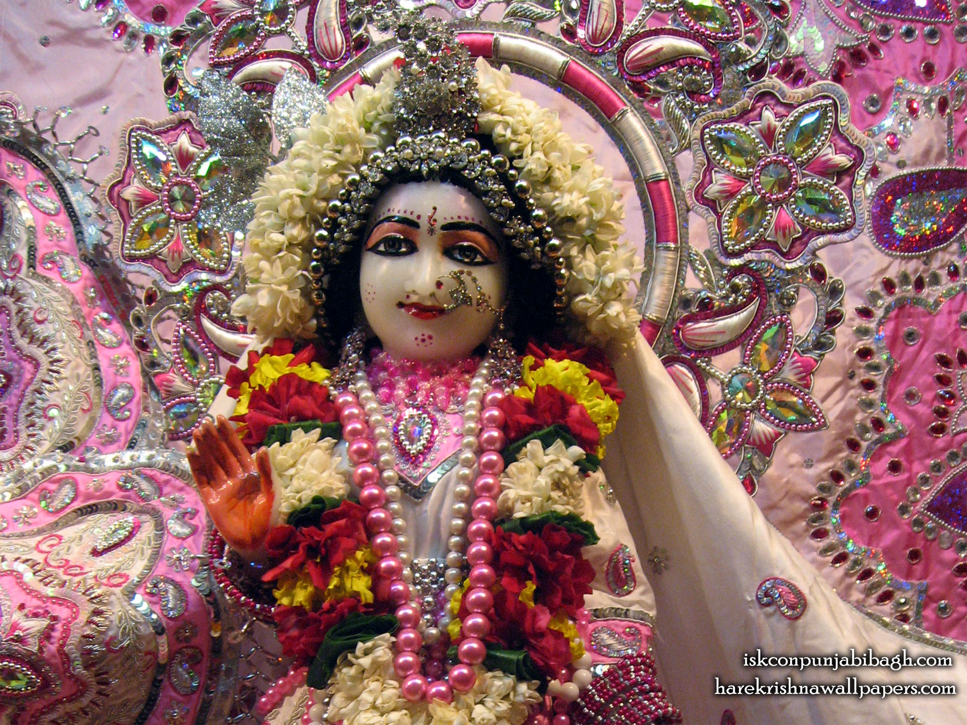 Sri Radha Close up Wallpaper (005) Size 1920x1440 Download