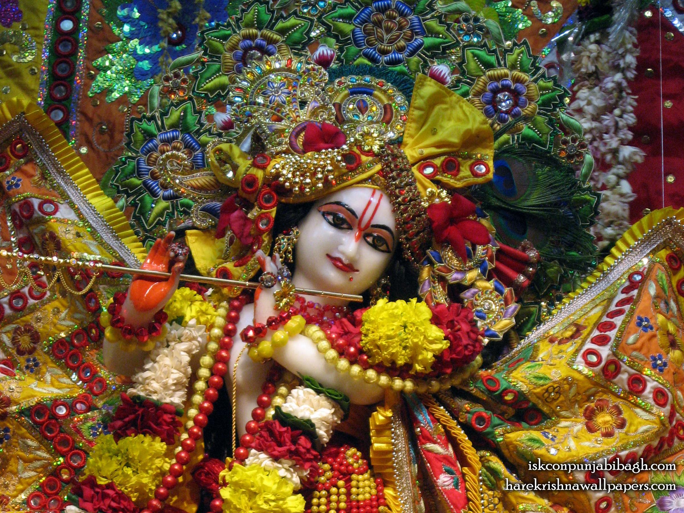 Sri Radhikaraman Close up Wallpaper (005) Size 2400x1800 Download
