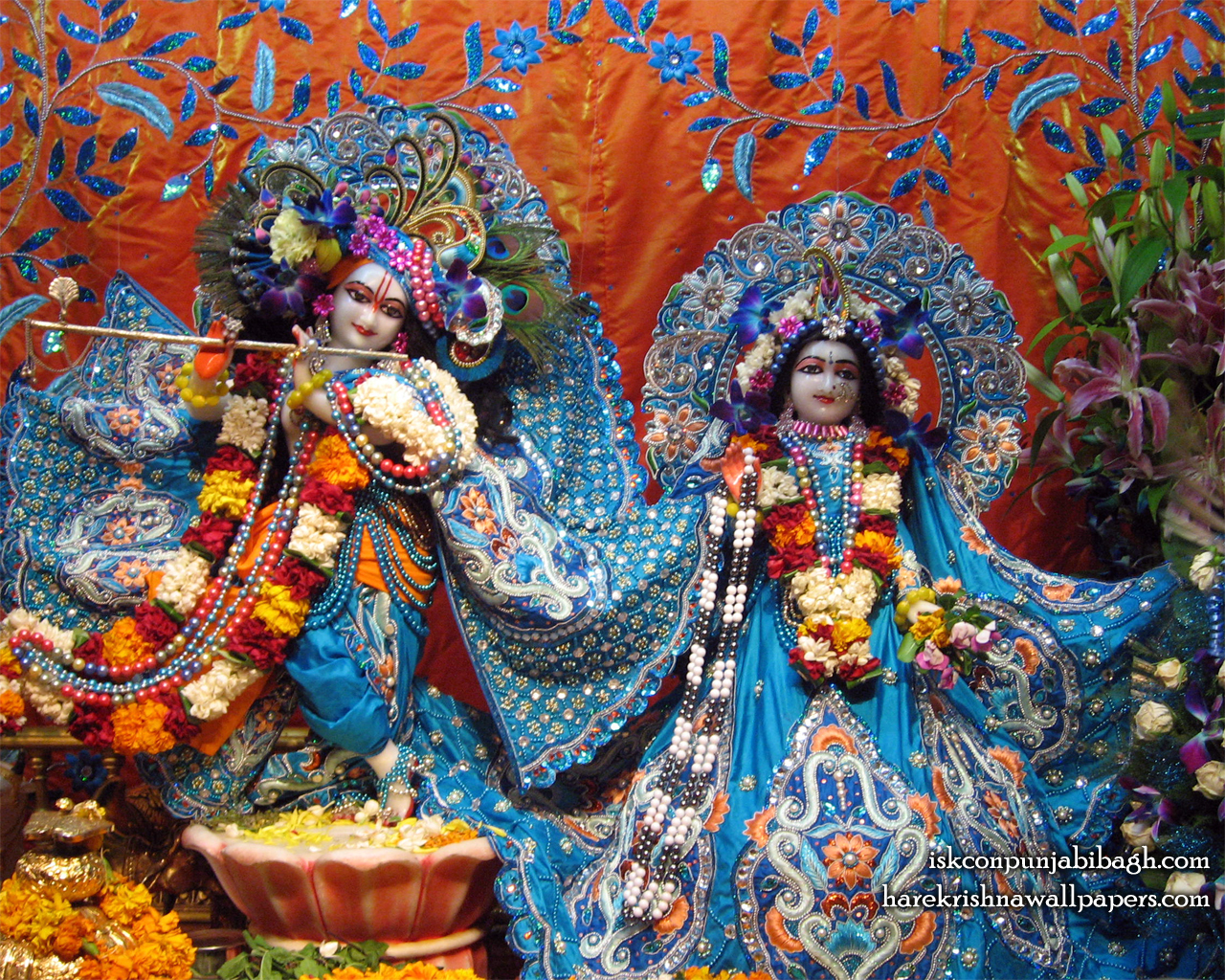 Sri Sri Radha Radhikaraman Wallpaper (005) Size 1280x1024 Download