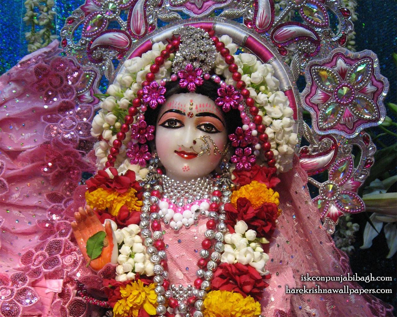 Sri Radha Close up Wallpaper (007) Size 1280x1024 Download
